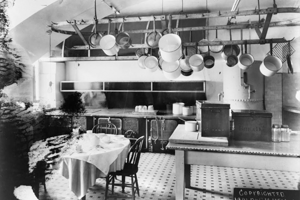White House Kitchen early 20th century