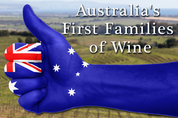 Australi's First Families of wine