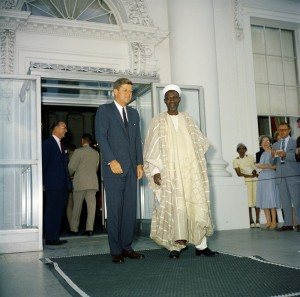 JFK and Prime Minister Abubakar Balewa of Nigeria