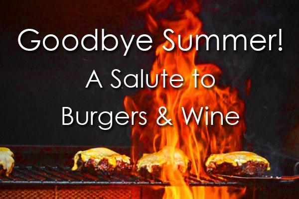 6 wine and burger pairings