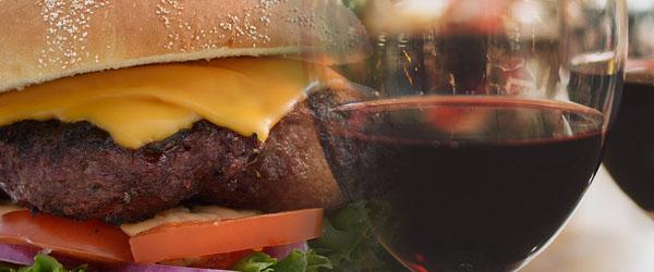 Beef Burger and Zinfandel