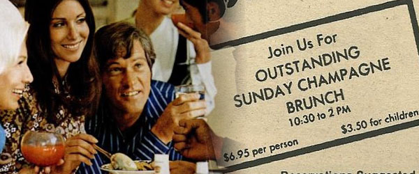 Sunday Brunch in the 1970s