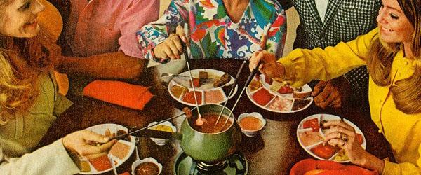 Fondu 1970s party