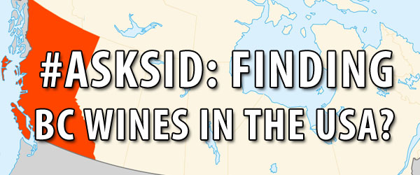 Finding British Columbia Wines in the USA
