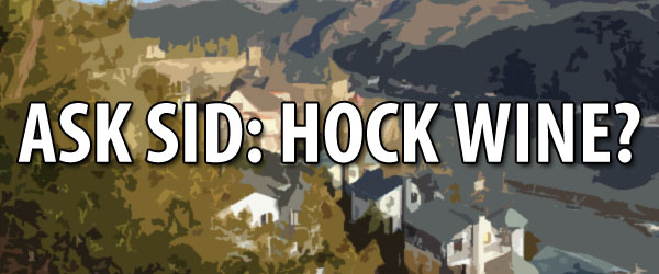 What is a hock wine?