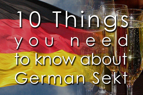 10 things you need to know about German Sekt wine