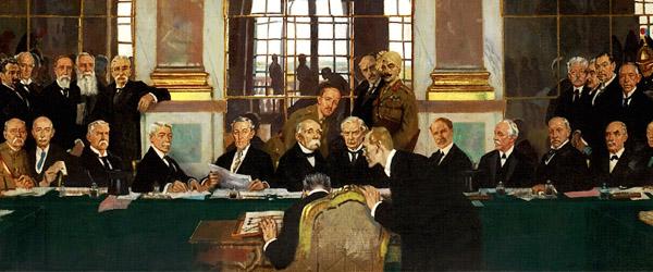 Sekt wine and the Treaty of Versailles