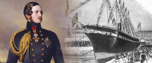 SS Great Britain christening Prince Albert Queen Victoria
