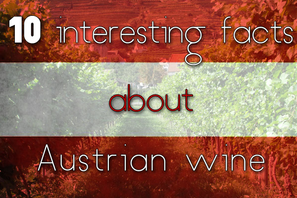 10 interesting facts about Austrian wine