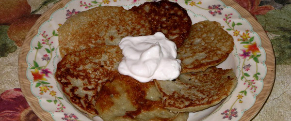 Deruny ukrainian dish
