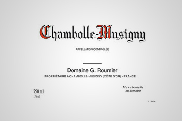 Chambolle-Musigny AC - Domaine Georges Roumier