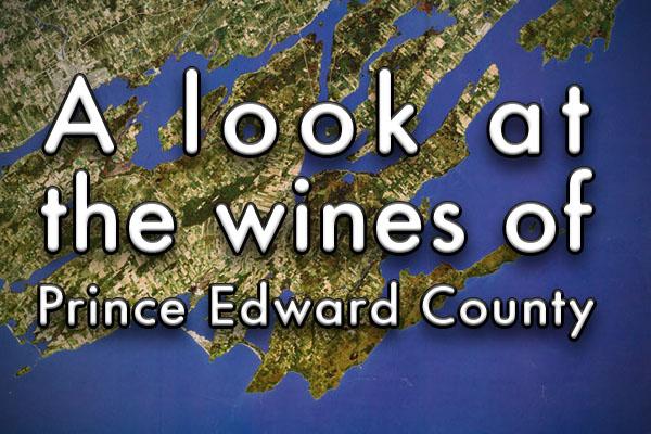 Prince Edward County ontario wine