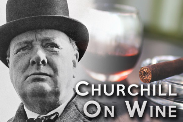 Winston Churchill and wine