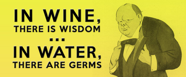 Churchill wine quote