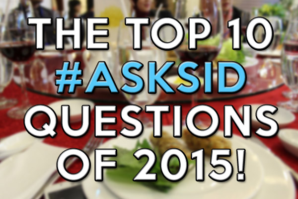 The top 10 Ask Sid questions of 2015