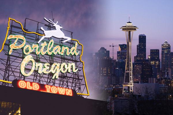 Restaurants in Seattle and Portland