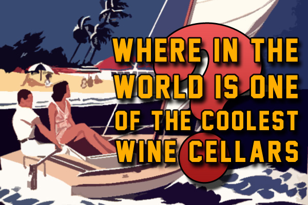 Bahamas Graycliff wine cellar