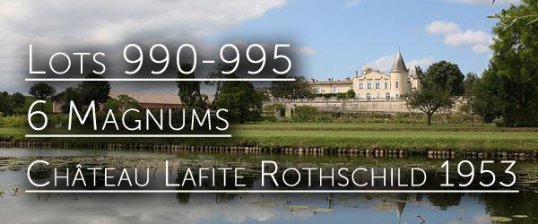 Chateau Lafite Rotschild 1953 vintage