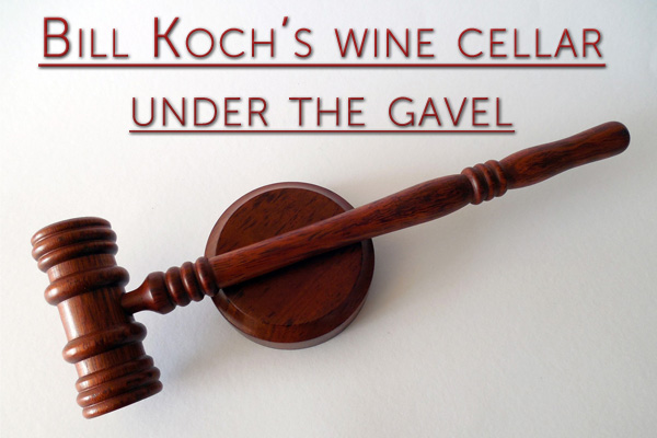 Bill Koch's wine cellar under the gavel