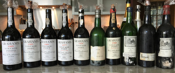 Graham Vintage Port Vertical