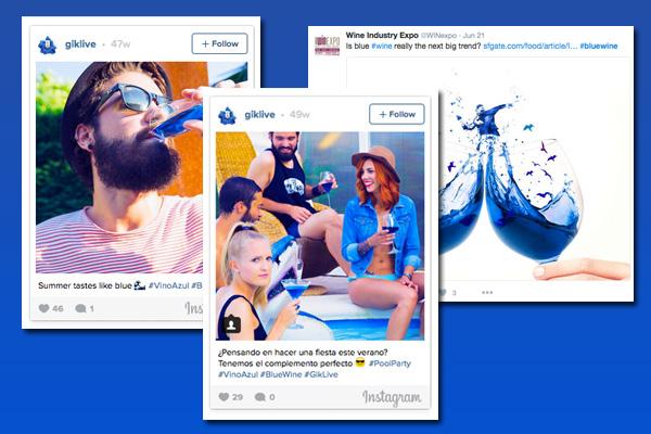 #bluewine twitter instagram