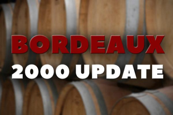 Bordeaux 2000 vintage
