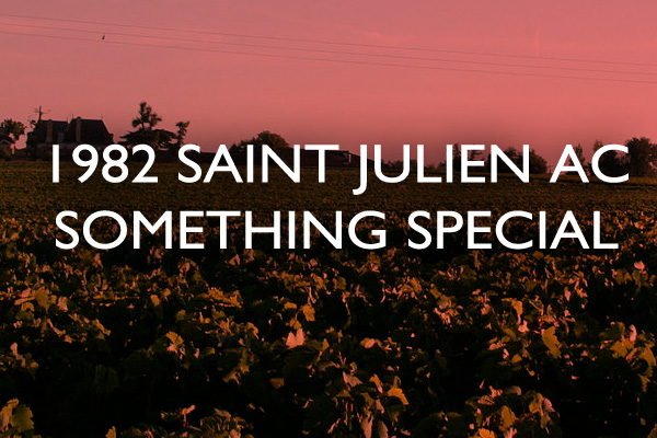1982 Saint Julien AC Something Special