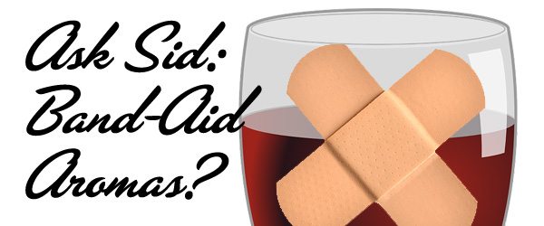 wine that tastes like a band aid