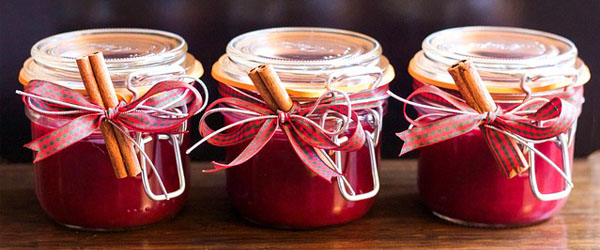 spiced cranberry merlot preservative jam jelly chutney