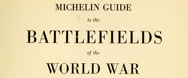 world war i michelin battlefield map