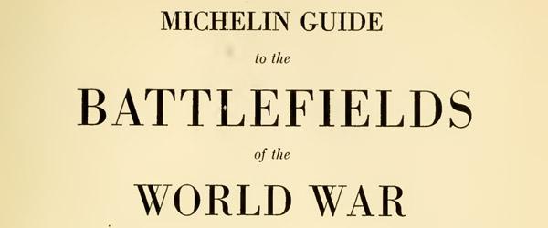world war i michelin battlefield map