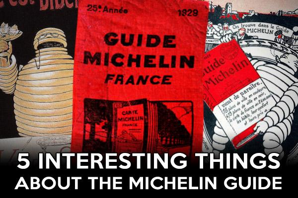 Michelin Guide history