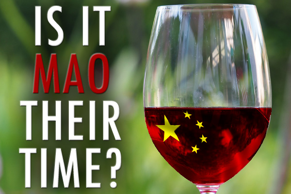 Chinese wine industry tasting
