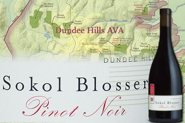 Sokol Blosser Pinot Noir Vertical Dundee Hills Oregon