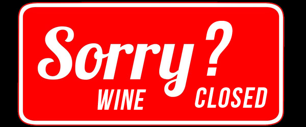 what does it mean when a wine is closed