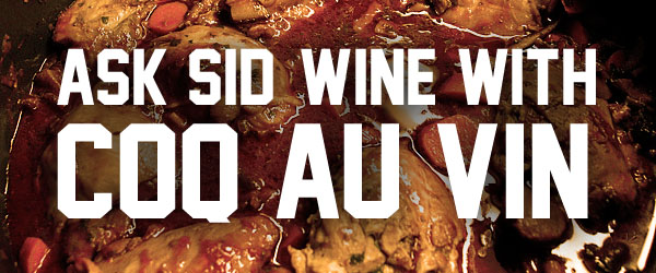 what Wine to pair with Coq Au Vin?