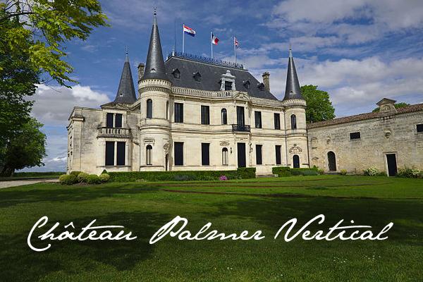 Château Palmer Vertical bordeaux