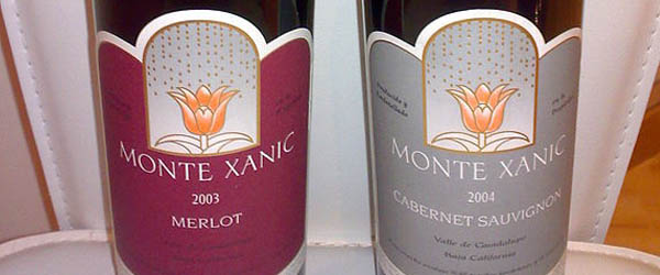 Mexico wine bottle labeling