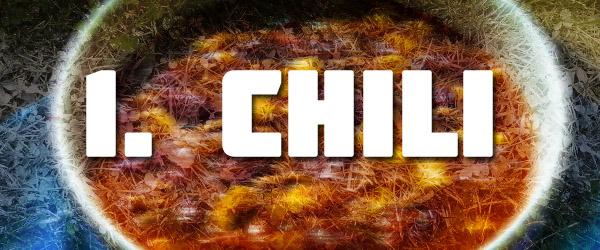 Super Bowl snacks chili