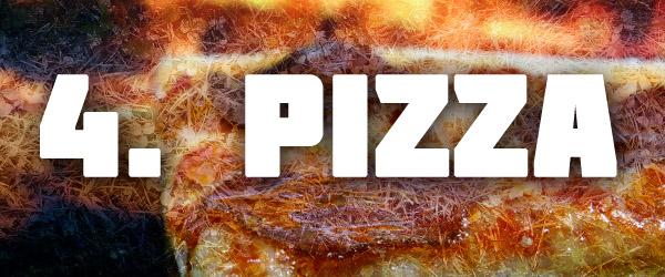 Pizza bbq super bowl
