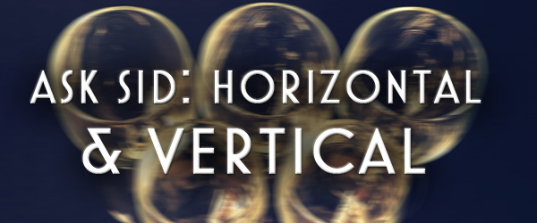 difference between horizontal and vertical wine tastings