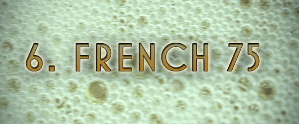 French 75 drink wine