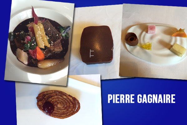 Pierre Gagnaire restaurant paris review