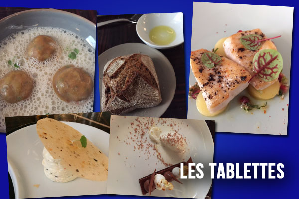 Les Tablettes restaurant paris review