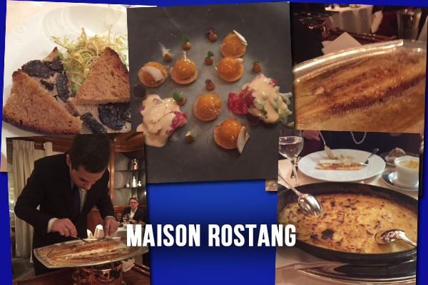 Maison Rostang paris restaurant review