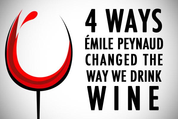 Émile Peynaud wine influence