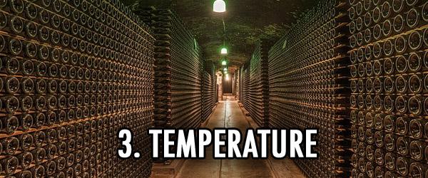 wine cellar and vat tempreature Emile Peynaud