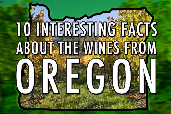 Oregon wine facts