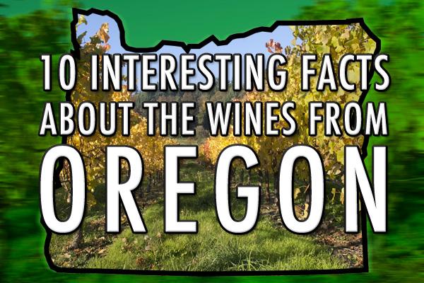 Oregon wine facts