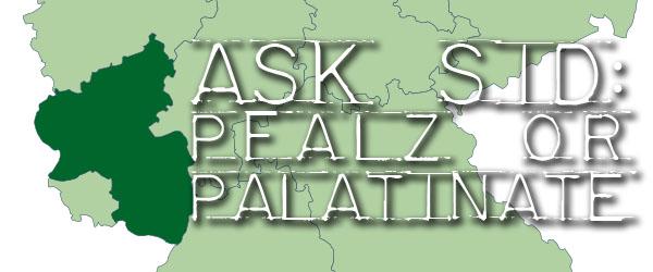 Pfalz or Palatinate wine region germany